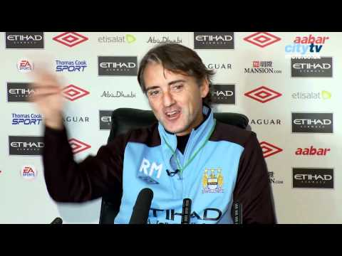 2011 City Bloopers - X-Rated Roberto Mancini