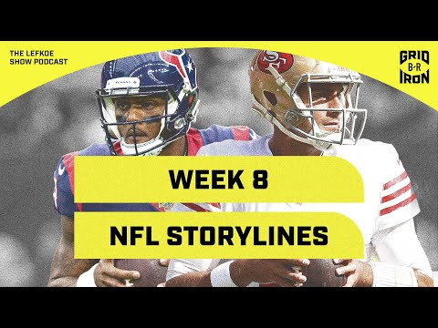 49ers Are For Real, Rodgers For MVP, & Week 8 NFL Storylines | The Lefkoe Show