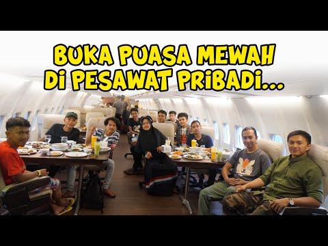 Image of BUKA PUASA MEWAH  DI PESAWAT SAMA TIM RICIS!! ❤️😍