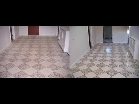 Stone floor, Tile & Grout Restoration & cleaning in Guernsey UK