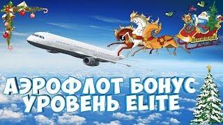 Аэрофлот бонус уровня Elite + карта Сбербанк Аэрофлот