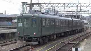 伊賀鉄道 860系se62編成 862f 昭和レトロトレイン 緑 上野市 12 03