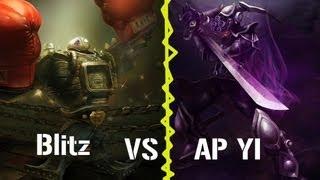 League of Legends Face Offs - AP Yi vs Blitzcrank