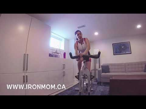 30 Minute Interval Spin Workout this pregnant mama challenges YOU ;)