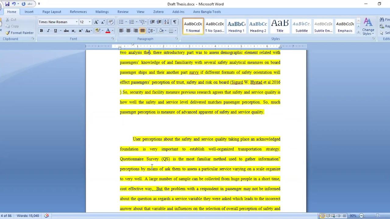 Attitude essay writing