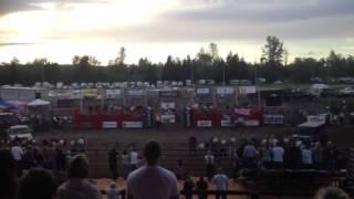 Bailey National Anthem SWW Fair Bull Bash