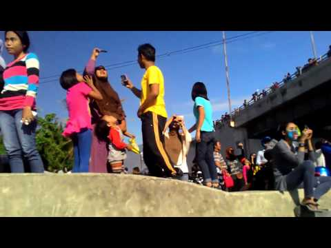 Tanda-tanda kiamat sudah terjadi di kota palu- Sulawesi tengah indonesia. 2016.