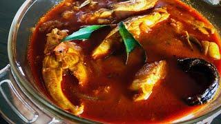 Kerala Fish Curry  Meen Mulakittathu Alleppey Style   മൻ മളകടടത  Recipe:184