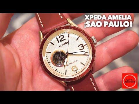 XPEDA Amelia Automatic Pilot Watch Review - São Paolo Brasil!