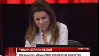 Deniz Birinci covering the Elections in Greece - Yunanistan Seçimleri 2015