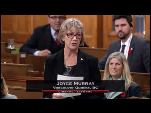MP Joyce Murray, Statement on Jim Prentice