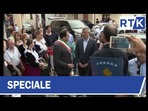 SPECIALE - Vizita e presidentit të Kosovës  Hashim Thaçi në Kalabri 26.06.2017
