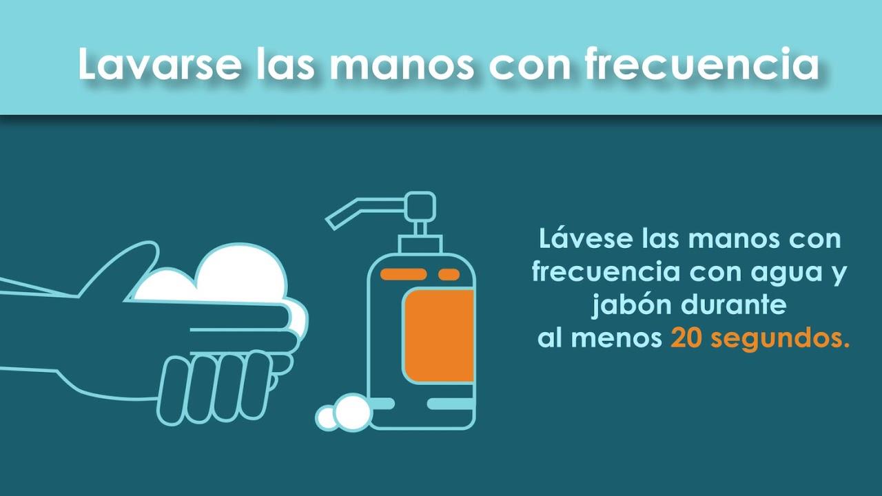 COVID-19: Lavarse las manos con frecuencia - YouTube
