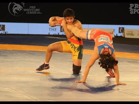 PWL 2017: Ritu Phogat VS Indu Chaudhary 17th Jan | Jaipur Ninjas Vs Haryana Hammers