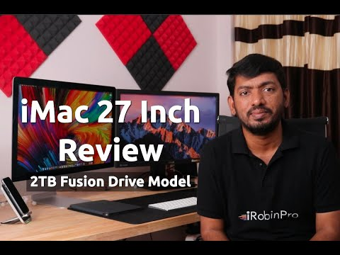 Apple IMac 27 Inch Unboxing And Review தமிழில்
