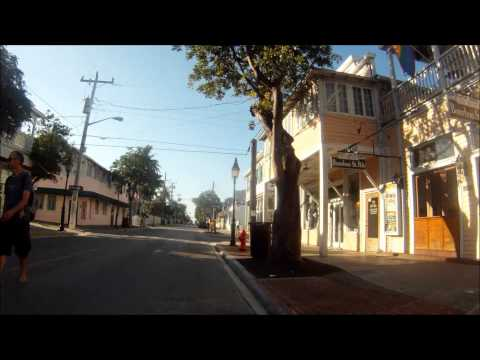 Duval Street, Key West - A Bike Tour From End To End
