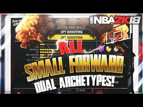NBA 2K18 SMALL FOWARD BUILDS