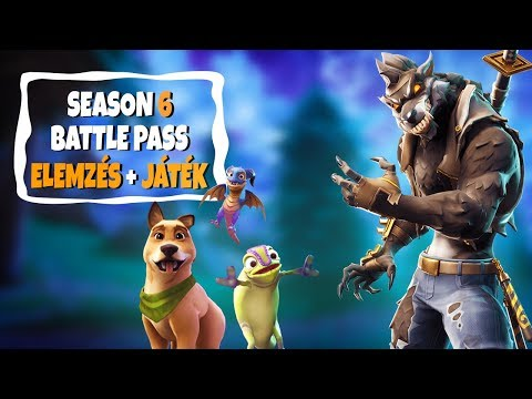 ITT AZ ÚJ SEASON! | SEASON 6 ELEMZÉS + GAME! (Fortnite Battle Royale)