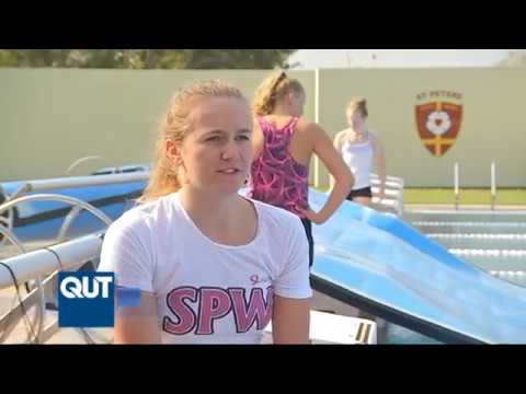 Ariarne Titmus prepares for the Commonwealth Games in Brisbane