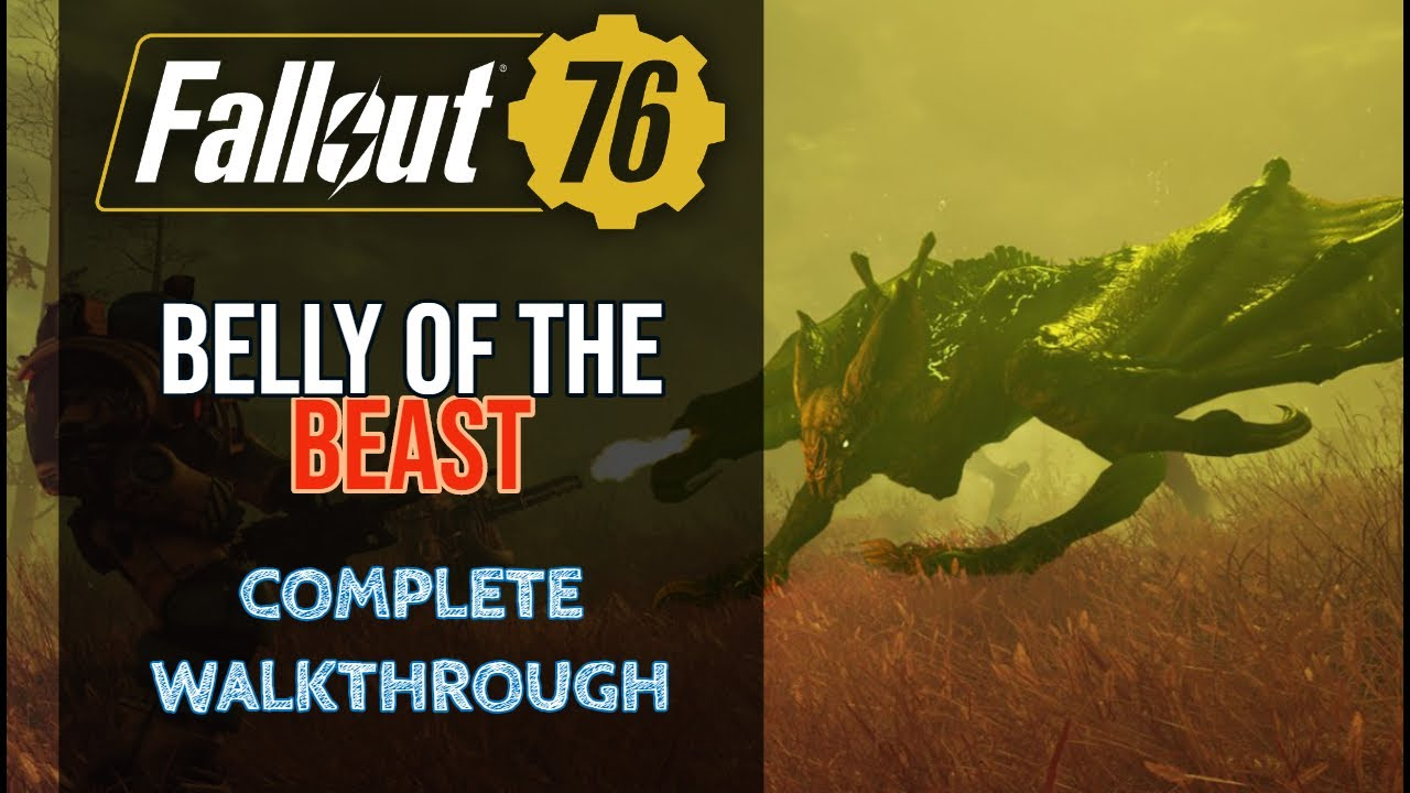 How to Complete The Belly Of Beast Quest in Fallout 76