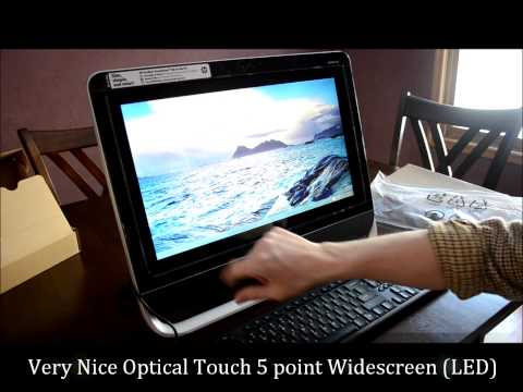 HP Pavilion TouchSmart Review 20-f394 All-In-One
