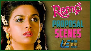 Remo -  Proposal Scene | Sivakarthikeyan | Keerthy Suresh | Anirudh Ravichander | Tamil Latest Movie