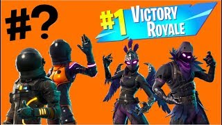 Top 10 Male/Female Counterpart Skins in Fortnite: Battle Royale!!