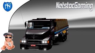 Euro Truck Simulator 2 - ETS 2 Mods Reviews MB1620 BY MORAES3D│NetstocGaming