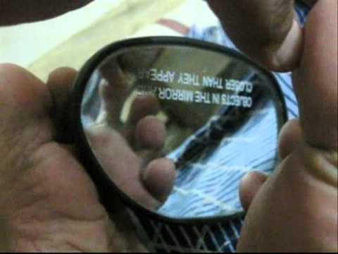 Examination of sole of foot with mirror youtube for 7 foot mirror