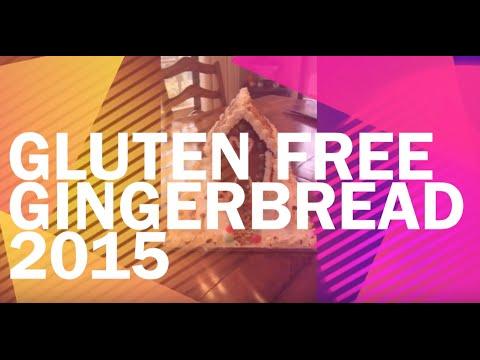 Gluten Free Gingerbread House 2015