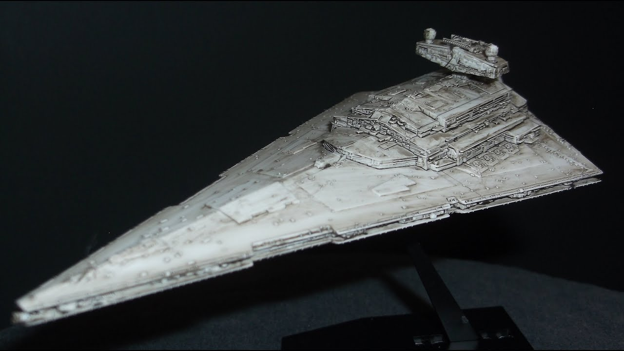 Bandai Imperial Star Destroyer Youtube