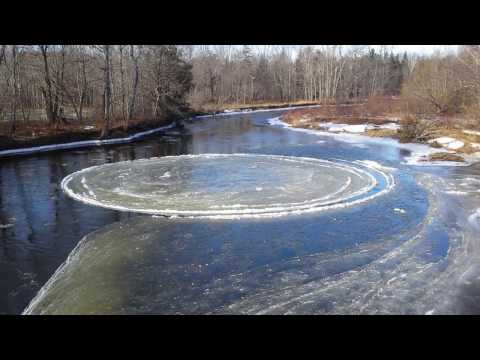 Pancake Ice - Hopewell , Pictou County , Nova Scotia  20170114