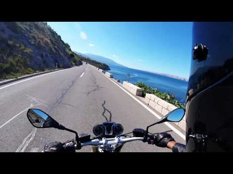Best riding (driving) roads - Croatia - Part 1