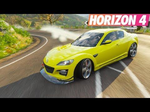 Japon İle Gazlıyoruz 😄 Forza Horizon 4 Mazda RX-8 thumbnail