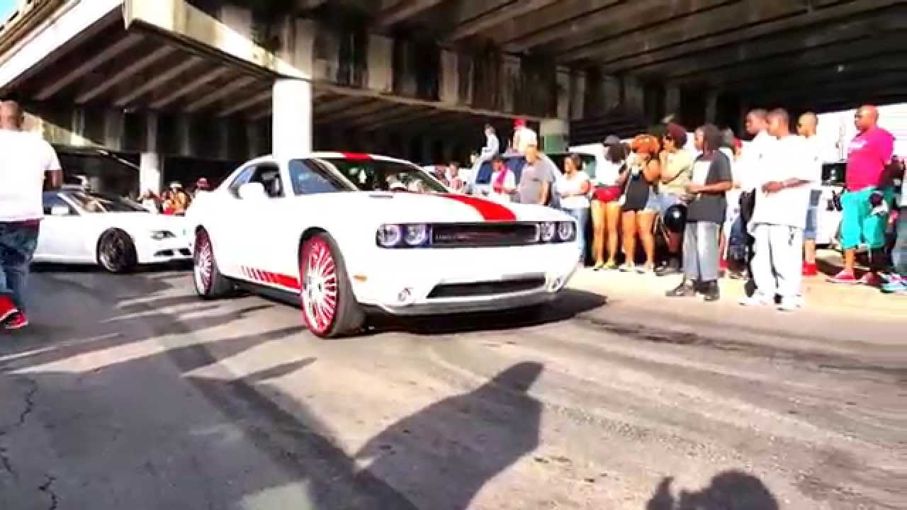 New Orleans Bounce Mix Fights Cars Motor Bikes YouTube - New orleans car show