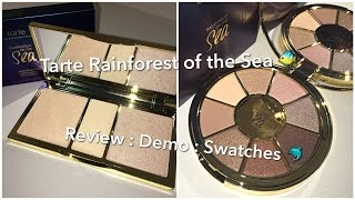 Tarte Rainforest of the Sea Collection : Review : Demo : Swatches