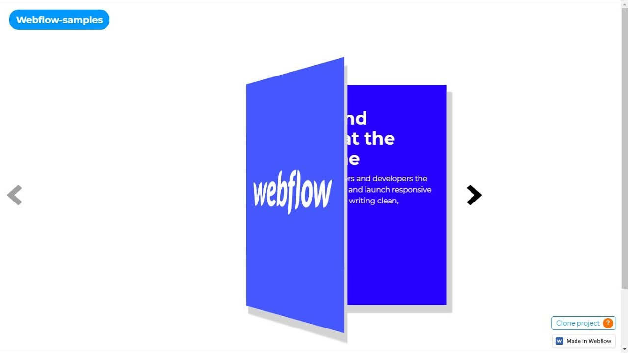 Webflow io #7 - CMS book slider tutorial