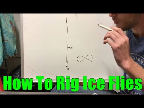 How To Fish Ice Flies