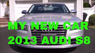 Audi S8 Review -  Initial Impressions