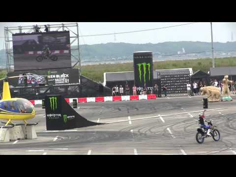 Monster Energy Nagoya Experience With D1GP - FMX Riders Freestyle Motocross show!!!