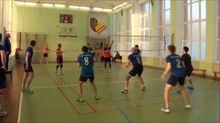 Уроки волейбольных комбинаций
