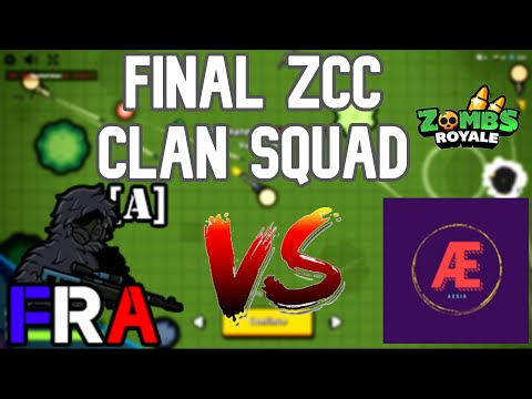 FINAL ZCC FRA Alpha Vs Aesir Clan Squad S9 | Zombs Royales
