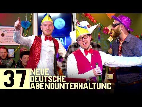 Karneval! Eskalation im Bällebad! Funkenmariechen, Büttenreden & Fuck Art Let's Dance live   NDA #37