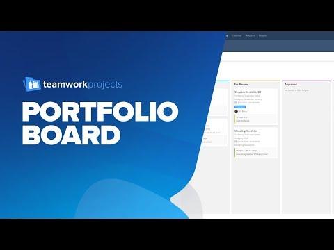 Teamwork Projects - Portfolio Board