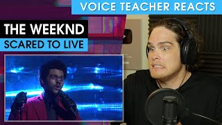 The Weeknd: Scared to Live | Voice Teacher Reacts