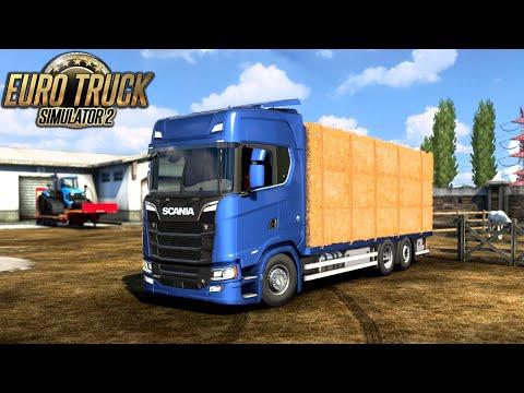 SCANIA NG TANDEM CARGOES 1.41 TRUCK | Euro Truck Simulator 2 |