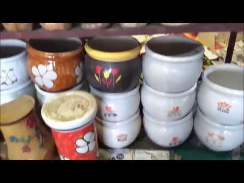 CROCKERY At WHOLESALE PRICE | KHURJA POTTERY | CROCKERY SHOPPING HAUL