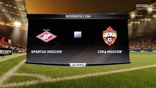 видео: [PS4] FIFA 17. СПАРТАК - ЦСКА
