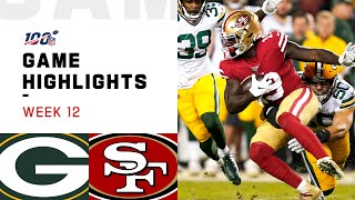 Packers vs. 49ers Week 12 Highlights | NFL 2019
