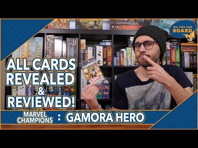 GAMORA Hero Pack | Marvel Champions | All NEW Cards REVIEWED & ANALYZED (New Deck-Building Rules!)